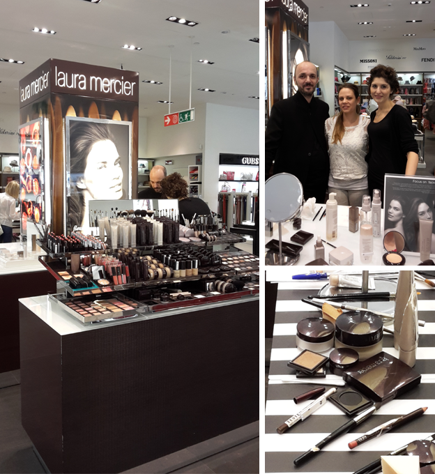 Laura Mercier Corner LaRinascente Firenze