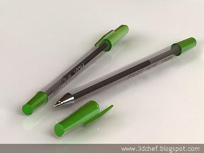 pen 3d model free