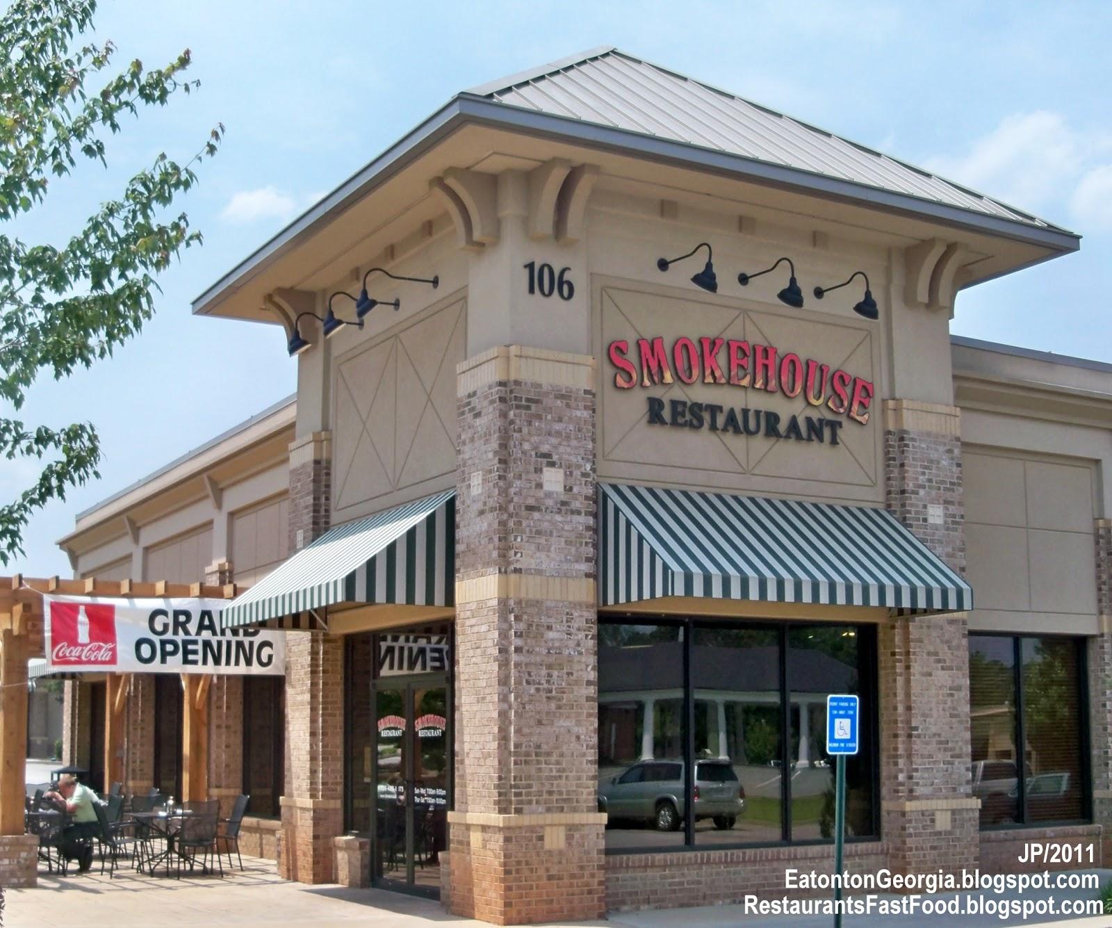 Smokehouse Restaurant Eatonton Georgia Lake Oconee Bbq Burgers Steak Casual Ga Putnam County