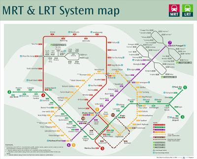 MRT atau Mass Rapid Transport atau keretanya Singapura masih menjadi moda transportasi ut Tips dan Cara Menggunakan / Naik MRT di Singapore