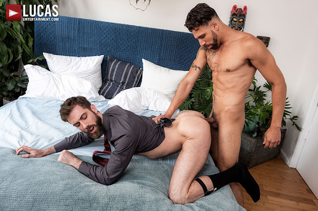 LucasEntertainment - FX RIOS FUCKS JASON COX UP THE ASS