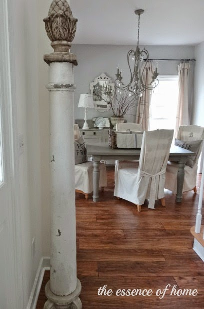 Decorating with Old Columns