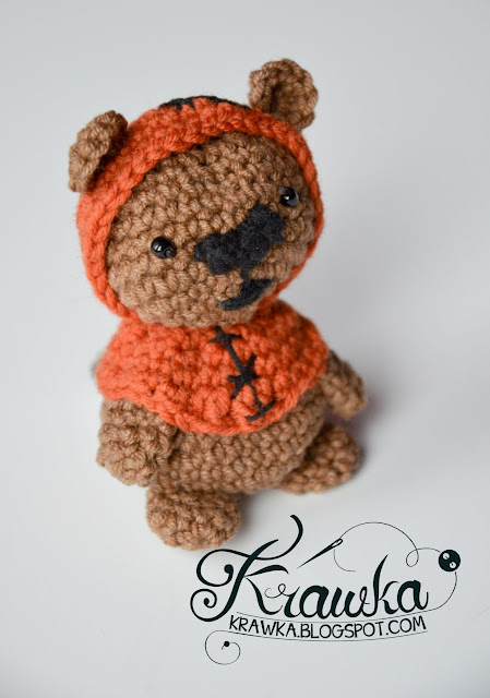 Krawka: Ewok Bear from Star Wars movie - totally free crochet pattern by Krawka