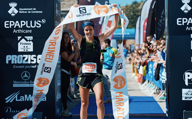 Ruth Croft vencedora de la Marató Pirineu 2017
