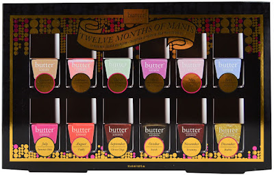 Holiday Gift Idea Twelve Months of Manis 12 Pc. Nail Lacquer Collection, By Barbie's Beauty Bits