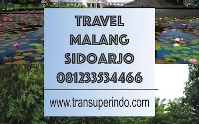 Travel Malang Sidoarjo