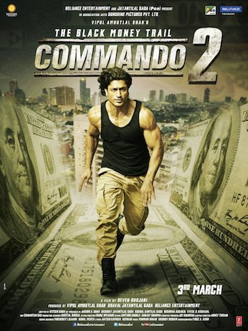 Commando 2 2017 Hindi 720p DVDRip 950mb