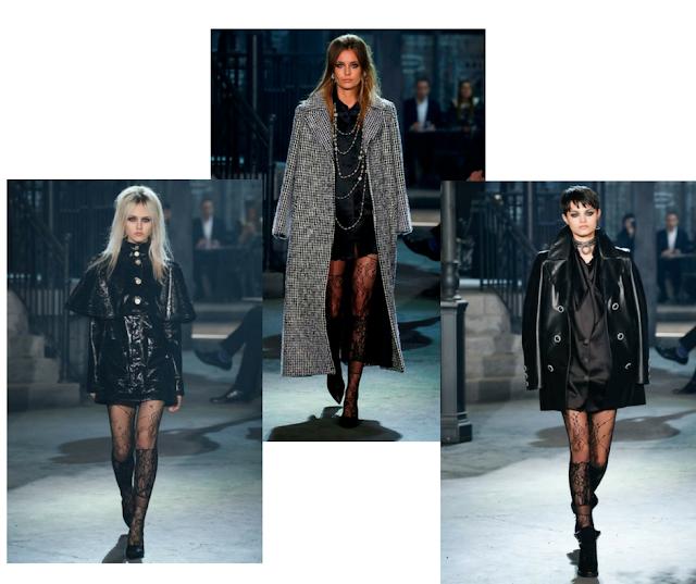 moda en medias cristal de Chanel