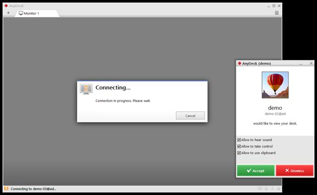تحميل البرنامج anyDesk للتحكم في الأجهزة عن بعد
