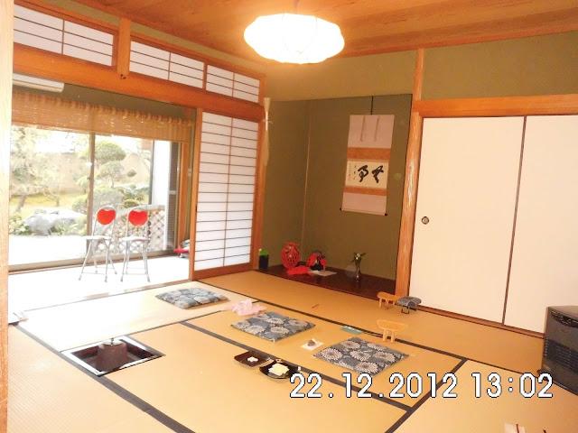 Ruangan Upacara Minum Teh di Jepang