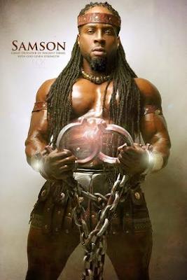 samson Black Biblical characters