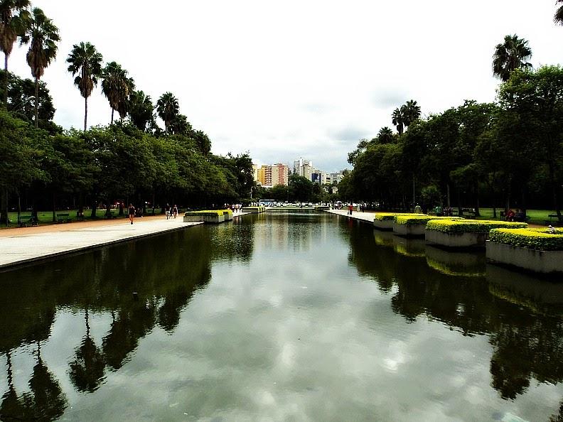 Espelho d'Água, no Parque da Redenção, em Porto Alegre