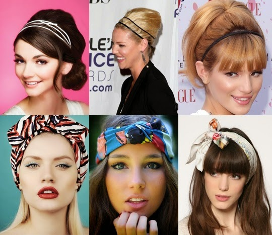 Cute hairstyle ideas with headband
