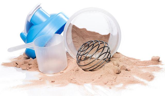 Suplementos con Proteínas y suero de leche