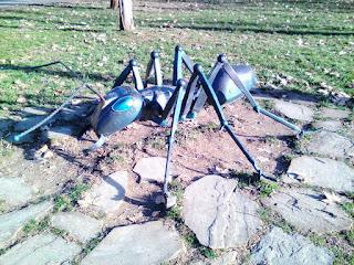 Ant, Sculpture, Yambol, Yambol's City Park,