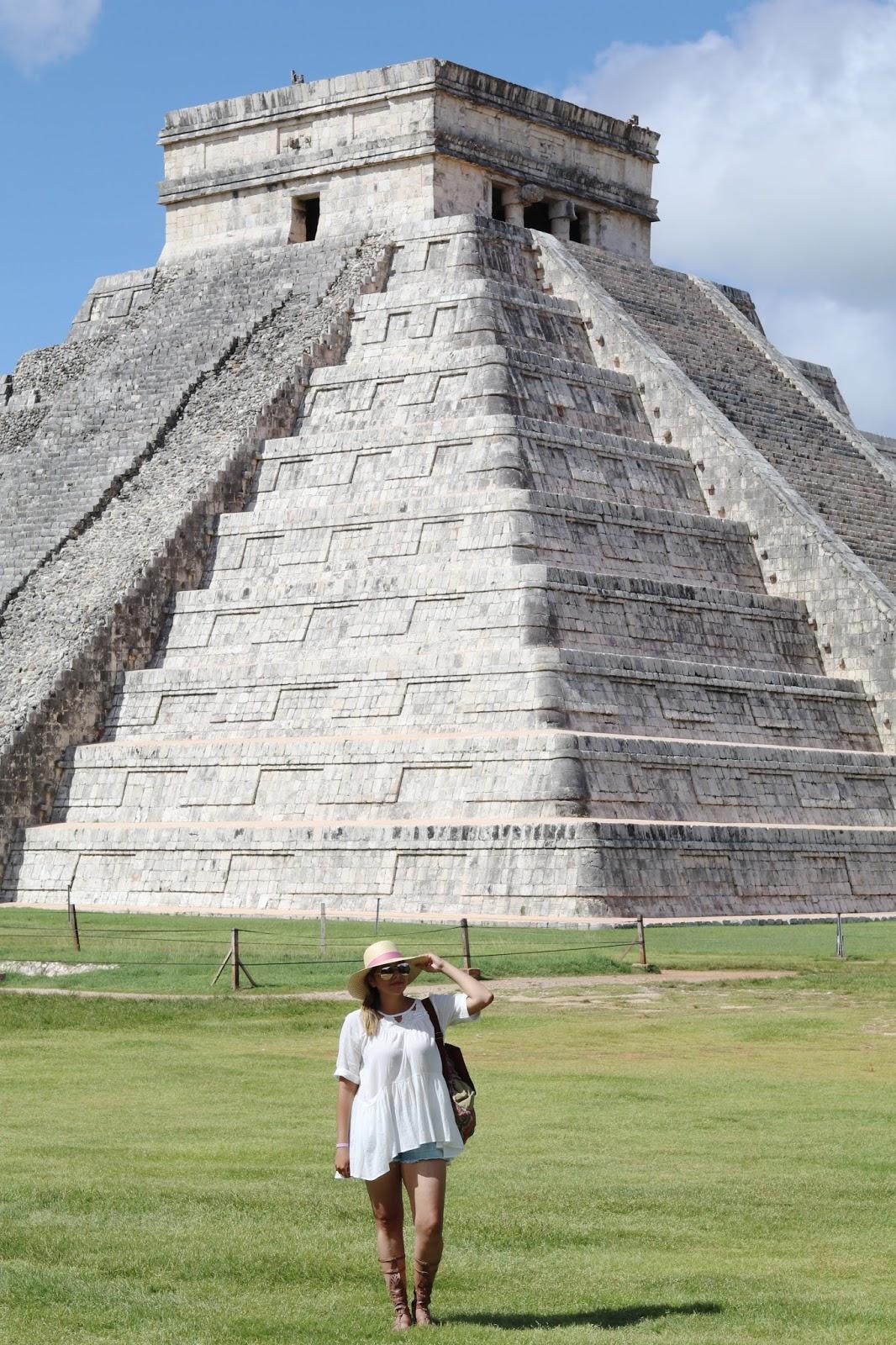 Cancun Travel Diary, mayan pyramid, ancient ruins