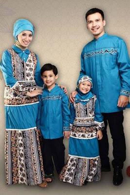 Desain Baju Keluarga Muslim Modern Masa Kini