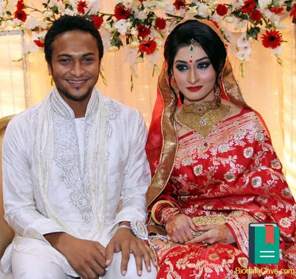 This photo was taken in time of wedding of Shakib Al Hasan