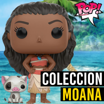 Lista de figuras funko pop de Funko POP Moana