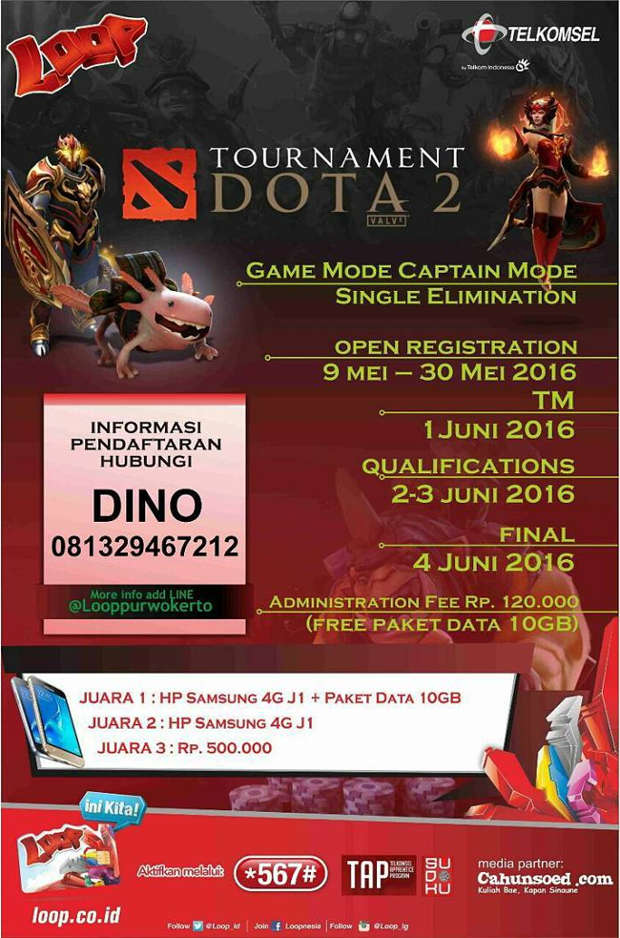 PURWOKERTO EVENT: Telkomsel Dota 2 Tournament