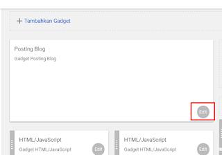 Cara Menghapus Icon Obeng Dan Tang Pada Blogger
