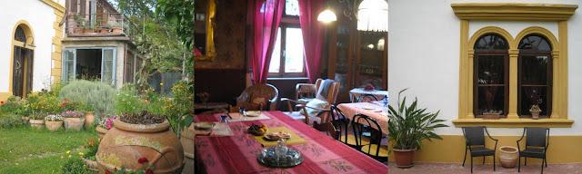 Garden and breakfast room Il Palazzino B&B Bibbional