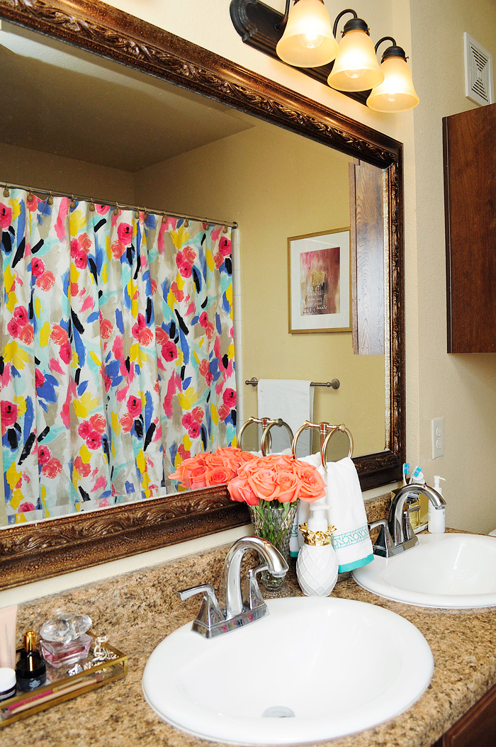 Spring master bathroom refresh | via monicawantsit.com