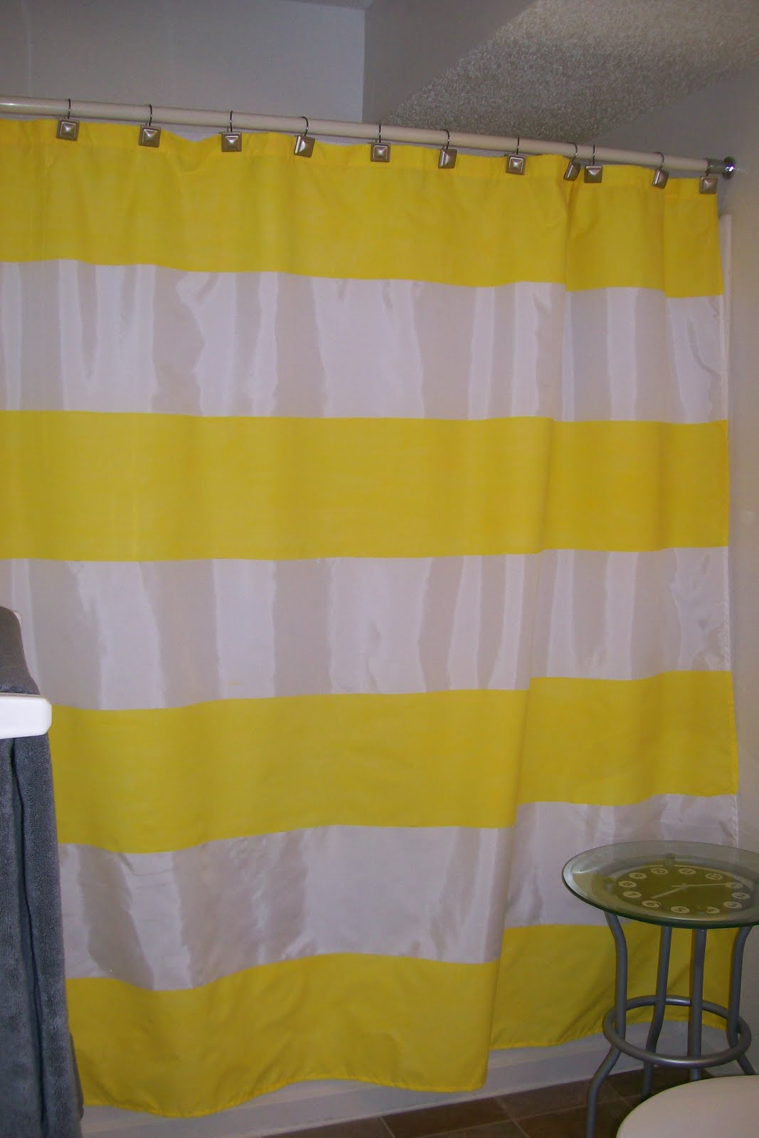 Diy painted shower curtain - Diy Painted Shower Curtain