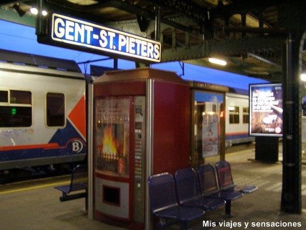 Estación de tren de Gante, Bélgica