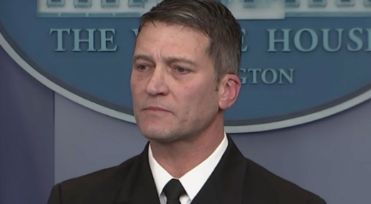 Secret Service Disputes Allegation That Ronny Jackson Banged on Female Colleague's Door