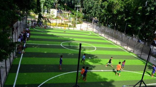 Pembuatan Lapangan Futsal Outdoor
