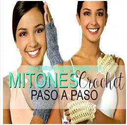 como-tejer-mitones-calados-crochet