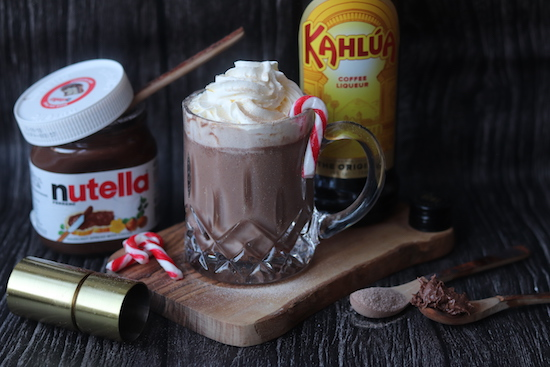 nutella and kahlua hot chocolate recipe