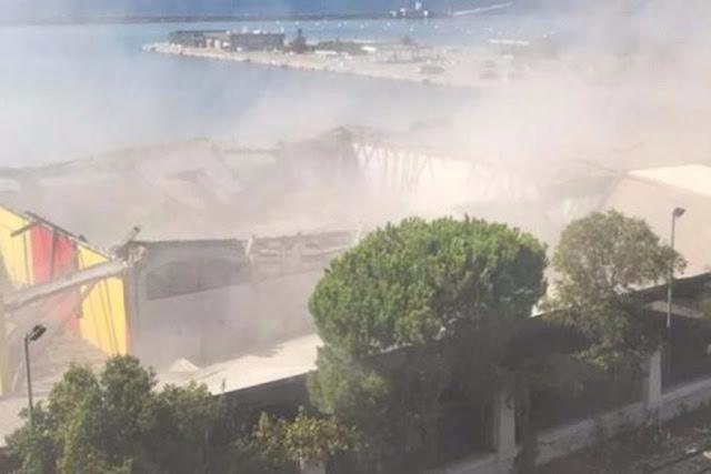 Τραγωδία στην Πάτρα: Κατέρρευσε οροφή στο παλιό λιμάνι