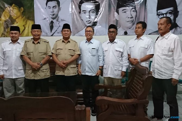 Kawal 08 Gerilya di Jateng, Bibit Waluyo Teriakan Prabowo Presiden NKRI