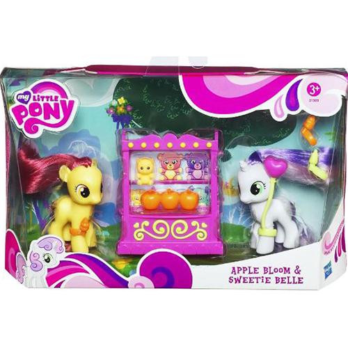 My Little Pony Wedding Flower Fillies: MLP Apple Bloom G4 Brushables