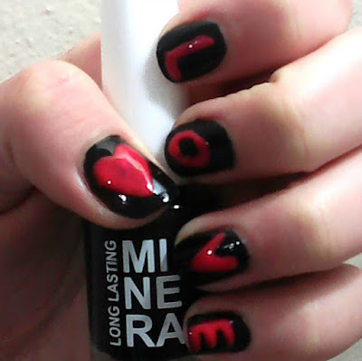 5 EASY Velentine's day nail art tutorials