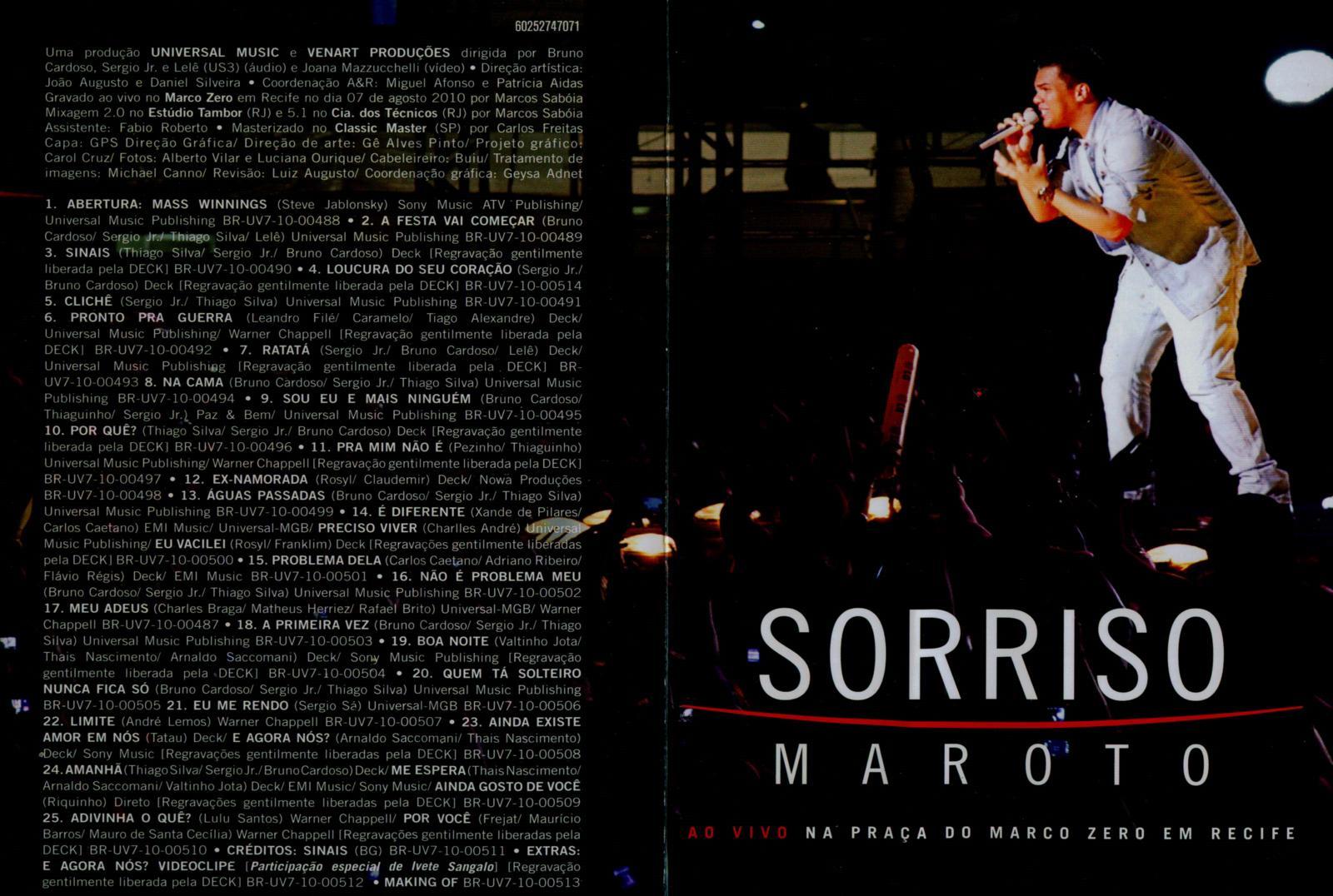 dvd show sorriso maroto ao vivo 2012
