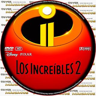 GALLETAThe incredibles 2 - LOS INCREIBLES 2 2018