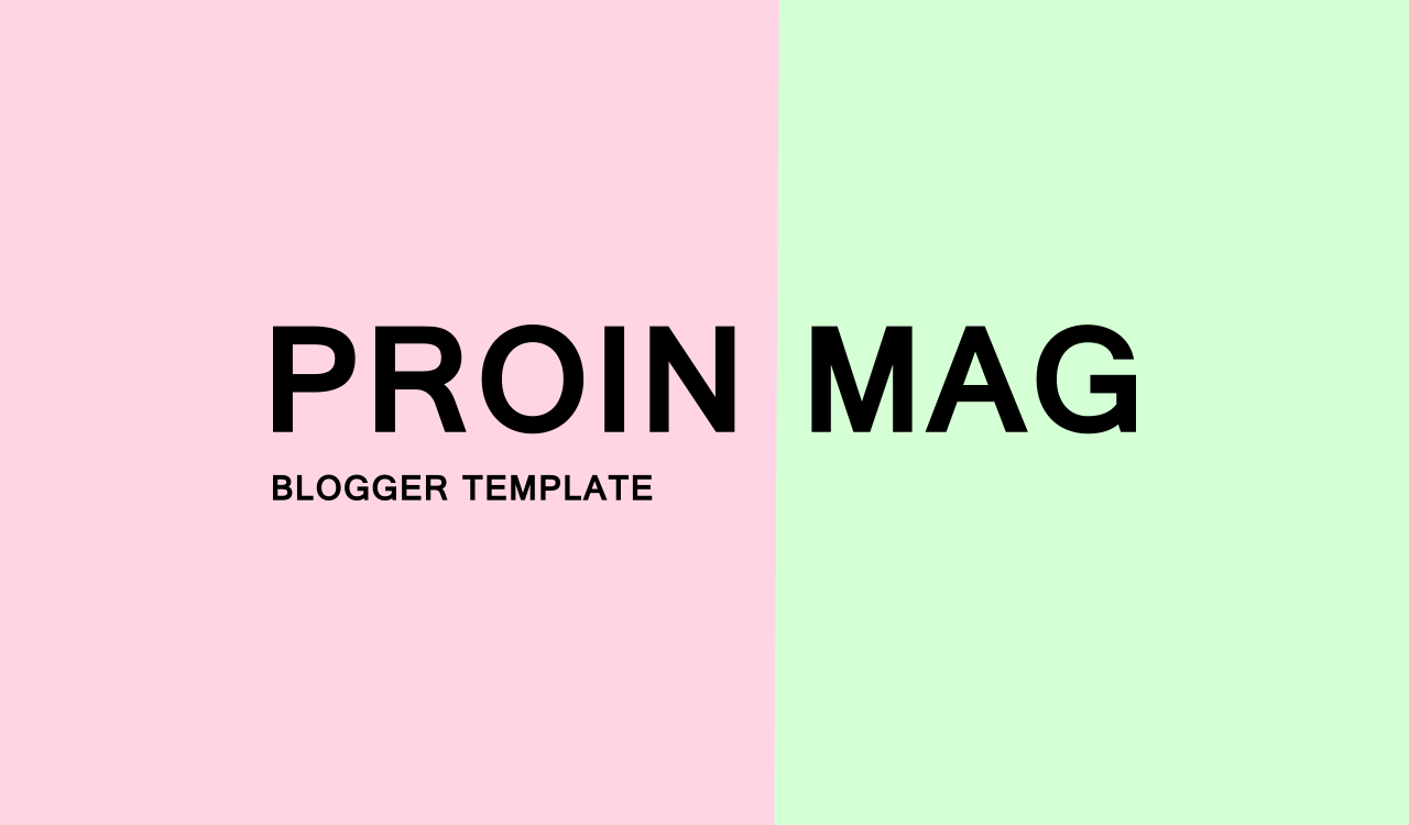 proin mag free blogger template