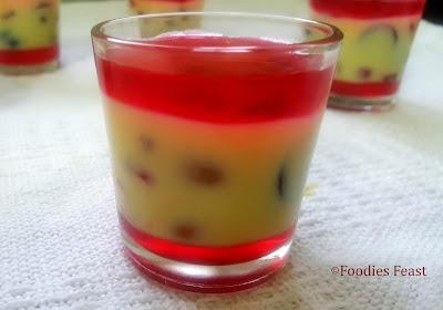 Custard Jelly Recipe