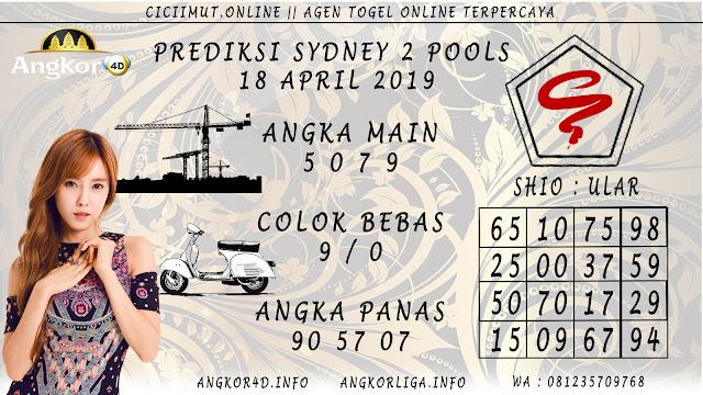 Prediksi Angka Jitu SYDNEY 2 POOLS 18 APRIL 2019