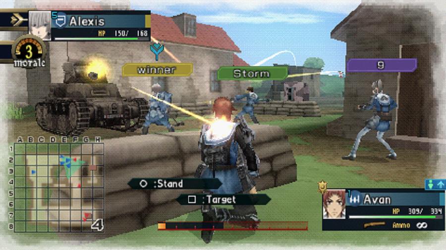 Daftar Kumpulan Game 3D FPS Tembak Tembakan Di PSP PPSSPP (Gameplay) : Valkyria Chronicles II