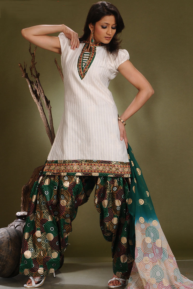 Salwar Kameez Patiala Trousers For Parties Patiala