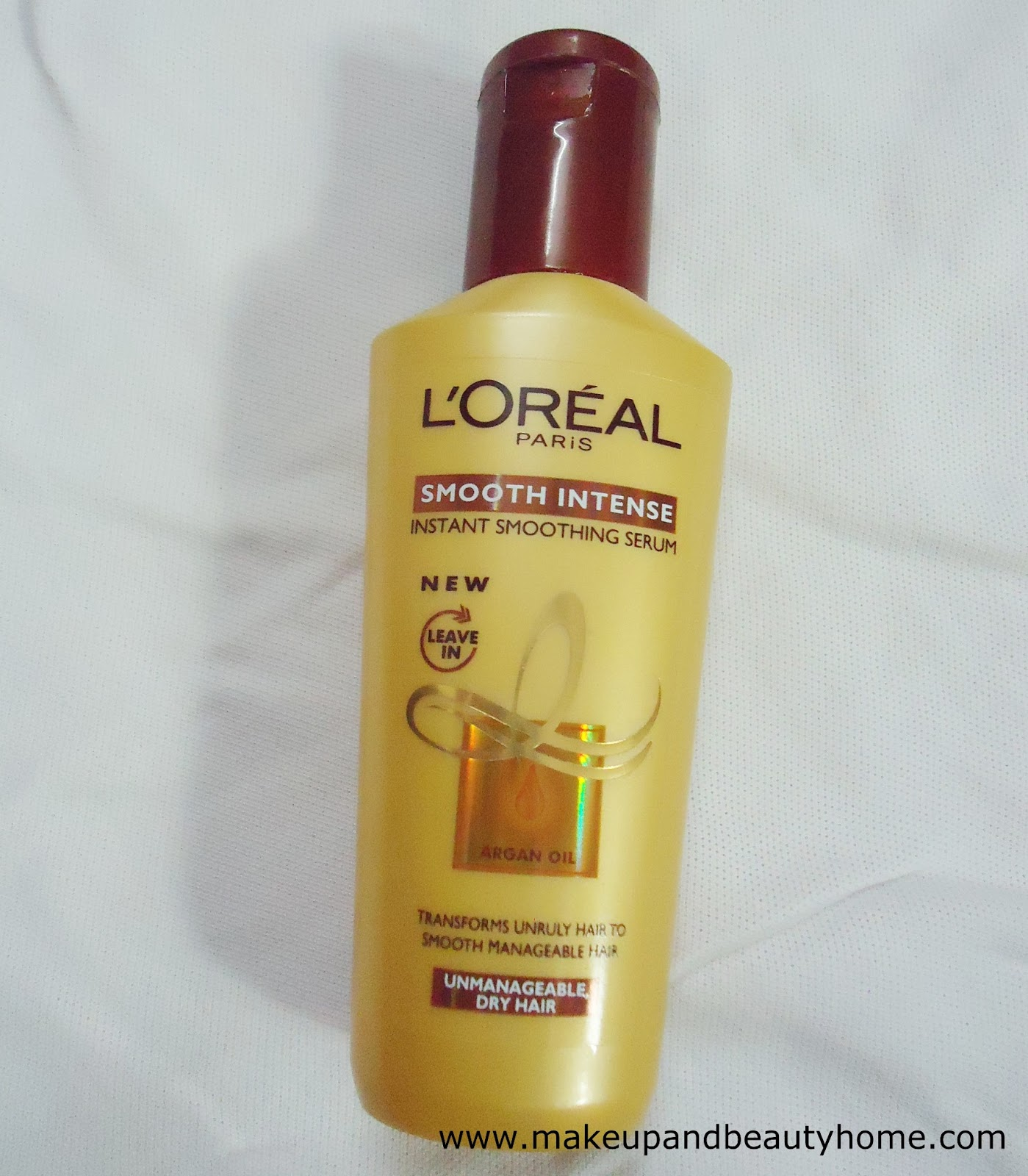 Claims Of The Serum L Oreal Paris Smooth Intense