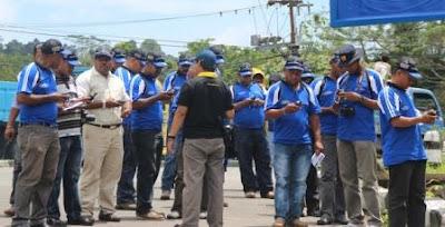 Pelatihan GIS Dinas PU Bidang Penataan Ruang Provinsi Papua Barat