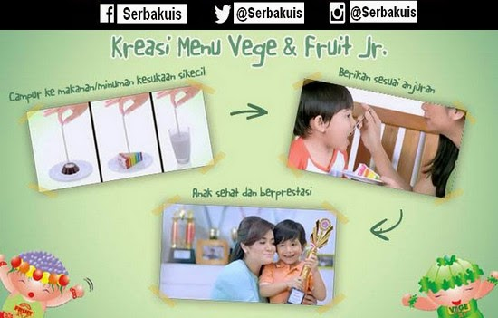 Kreasi Menu Vege & Fruit Jr.
