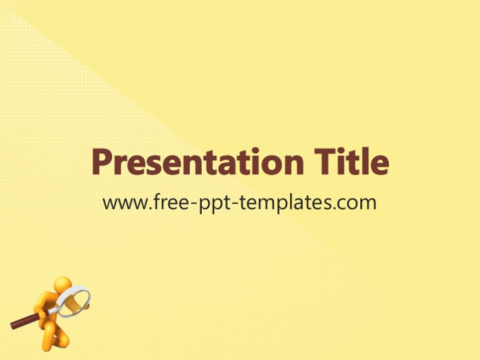 research ppt template