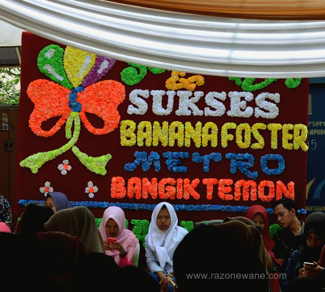 Banana Foster Kota Metro oleh oleh Lampung