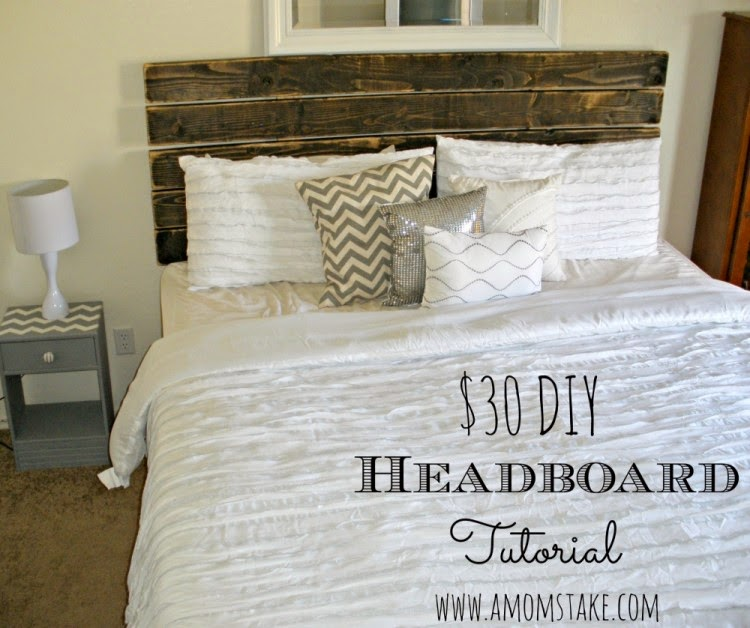The Cookie Puzzle: 10 DIY Rustic Headboards